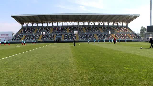 14 Yaş Altı Futbol Milli Takımı seçmelerine devam edildi