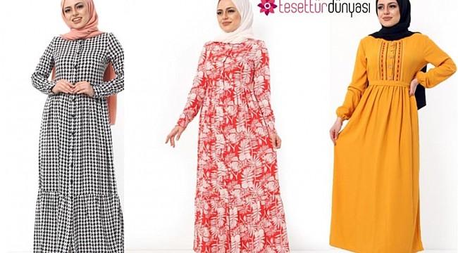Tesettür Elbise Giyim Tercihleri