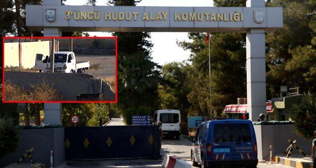 ABD'li komutanlar Akçakale'deyken teröristler sınırda görüntülendi