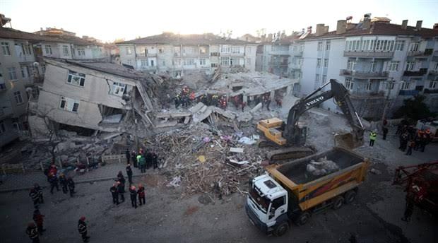 AFAD, Elazığ'daki 6.8 şiddetindeki depremin 3 boyutlu görüntüsünü yayımladı