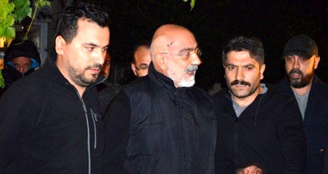 """Ahmet Altan, gözaltı için gelen polislere """"Beni çok güzel yakaladınız"""" demiş"""