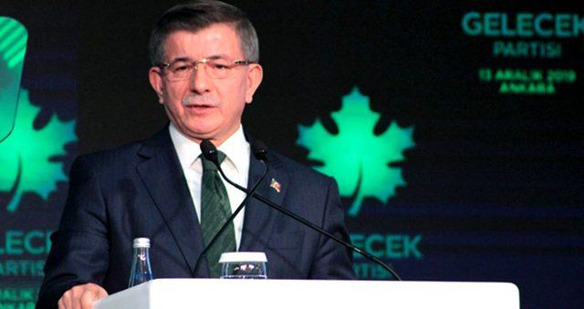 Ahmet Davutoğlu: Kanal İstanbul Projesi'nden vazgeçilmeli