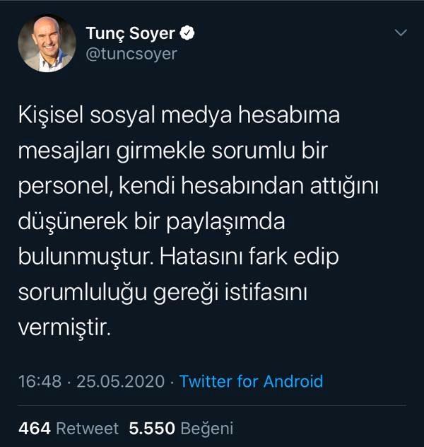 Ak Partili Dağ'dan, Tunç Soyer'e 'troll hesap' eleştirisi (2)
