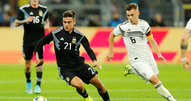Almanya ile Arjantin yenişemedi: 2-2