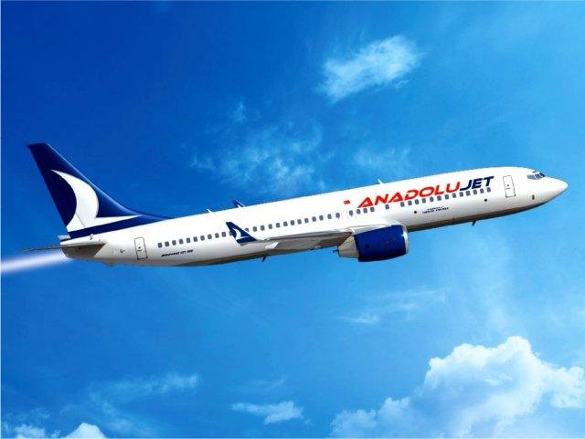 Anadolujet yolcularını 21 ülkeye 1 dolara uçuracak