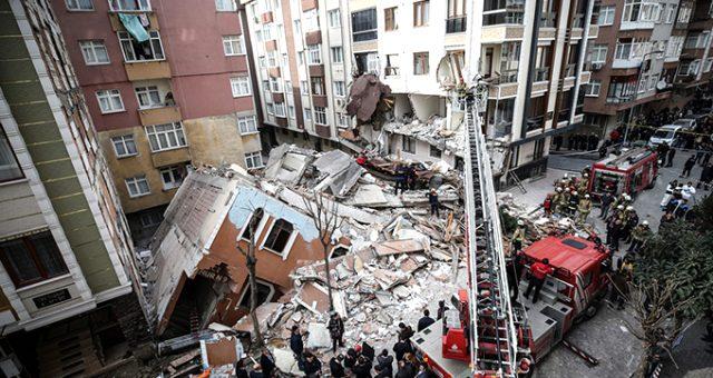 Bahçelievler Belediye Başkanı: Binanın çökme nedeni kolon demirlerinin satılmak üzere alınması