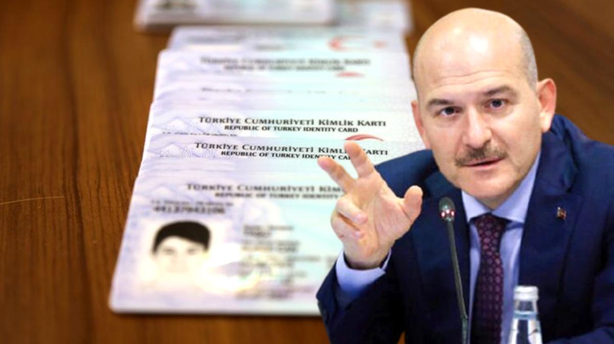 Bakan Soylu yeni projeyi duyurdu: Ocaktan itibaren sürücü kartlarındaki bilgiler çipli kimlik kartlarına yüklenecek