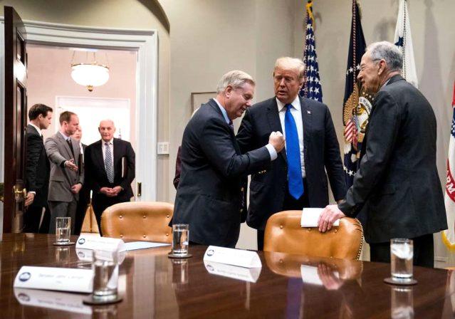 Barış Pınarı Harekatı nedeniyle Türkiye'ye 'yaptırım tasarısı' hazırlayan ABD'li Senatör Graham, Trump'ın en yakınındaki isim çıktı