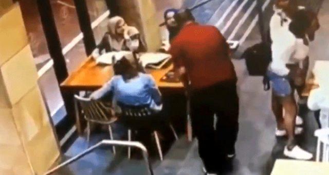 Başörtülü hamile kadına çirkin saldırı! Darp edilen kadın hastaneye kaldırıldı