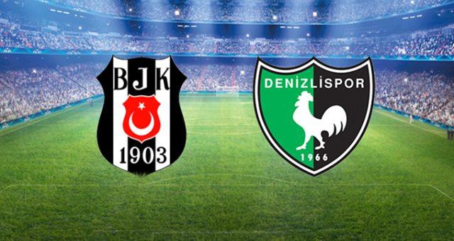 Beşiktaş-Denizlispor maçında ilk gol geldi!