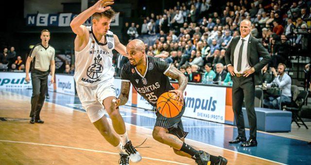 Beşiktaş Sompo Sigorta, Neptunas'a 86-80 yenildi
