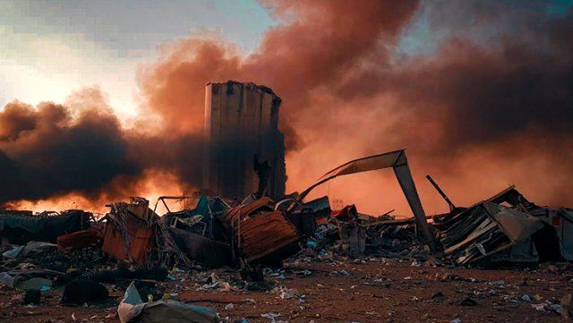 Beyrut'taki patlamanın arkasında İsrail mi var? Açıklamalare peş peşe geldi