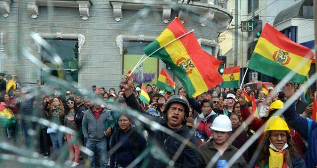 Bolivya'da darbe girişimi: Genelkurmay Başkanı, Devlet Başkanı Morales'in istifasını istedi