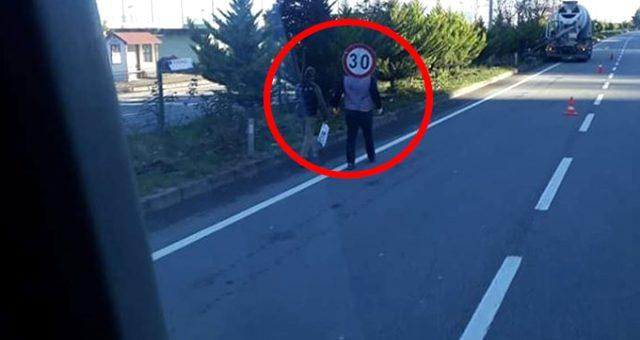 Bu fotoğraf Giresun'da çekildi! Görenler anlam veremedi, gerçeği şoför ortaya çıkardı