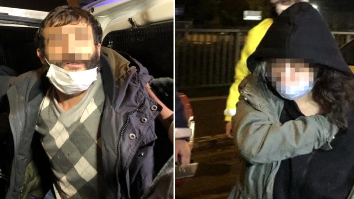 Bursa'da kısıtlamada otomobille gezerek uyuşturucu içen 4 şüpheli gözaltında