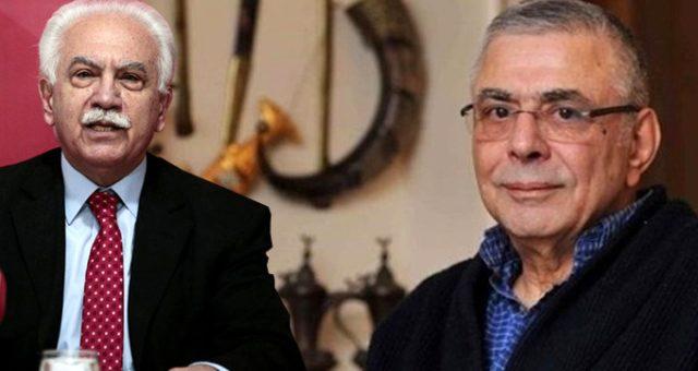 """Canlı yayında Mehmet Eymür ve Doğu Perinçek kavgası! Birbirlerini """"ABD ajanı"""" olmakla suçladılar"""
