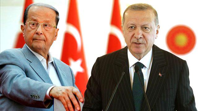 Cumhurbaşkanı Erdoğan, Beyrut'taki korkunç patlama nedeniyle Lübnan'a taziye mesajı gönderdi