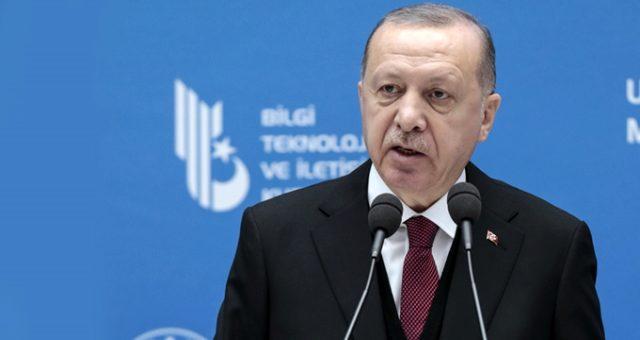 Cumhurbaşkanı Erdoğan: TÜRKSAT 6A'nın tasarımı tamamlandı, 2022 yılında uzaya göndereceğiz