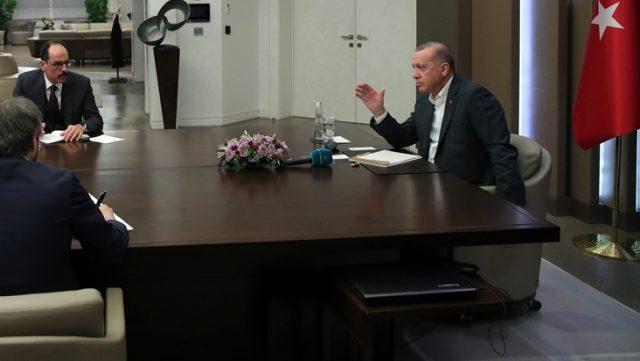 Cumhurbaşkanı Erdoğan'ın bakanlarla yaptığı telekonferansta Çavuşoğlu'nu uyardı