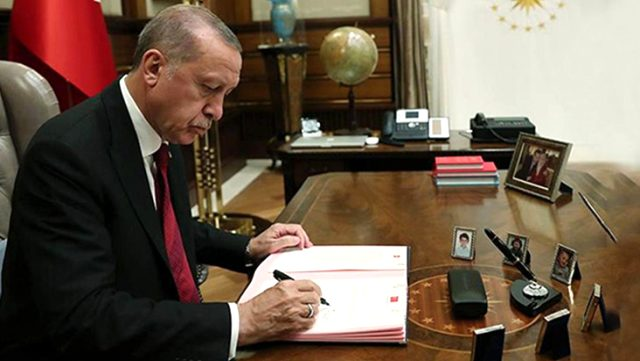 Cumhurbaşkanı'nın imzaladığı kararla belediyelerden 3 ay kesinti yapılmayacak