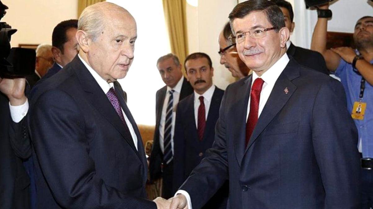"""Davutoğlu'nun randevu talebine, Bahçeli'den """"Cumhurbaşkanlığı Hükümet Sistemi"""" şartlı yanıt"""