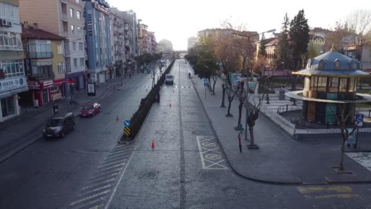 Doğu Anadolu sokağa çıkma kısıtlamasıyla sessizliğe büründü