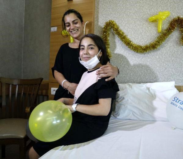 Doğum gününde annesinin böbreğiyle hayata tutundu