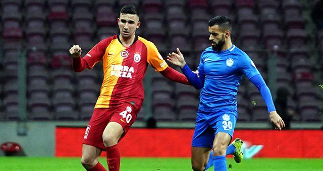 Emin Bayram, ilk Galatasaray maçına Tuzlaspor karşısında çıktı!