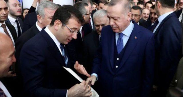 Erdoğan, İmamoğlu'nun zarfından sonra da aynı ifadeyi kullandı: Yapacağız