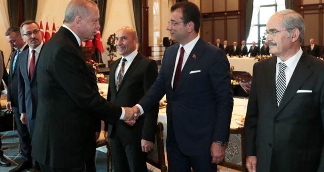Erdoğan önümüzdeki günlerde İBB Başkanı İmamoğlu ile vakıfları görüşecek
