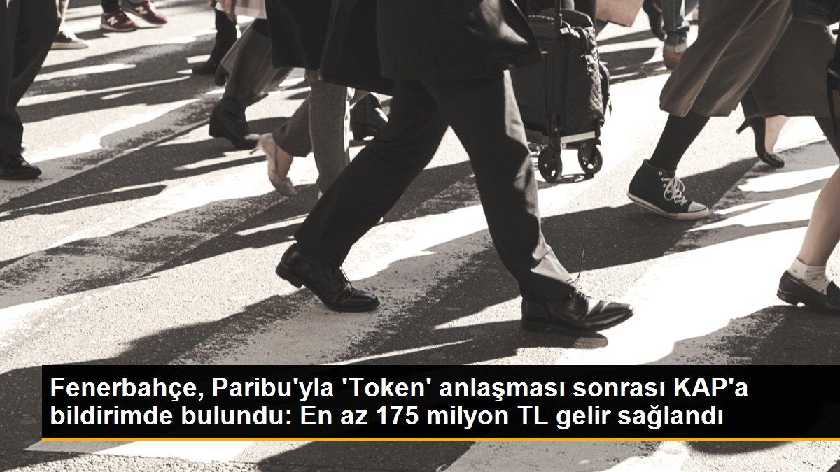 Fenerbahçe, Paribu'yla 'Token' anlaşması sonrası KAP'a bildirimde bulundu: En az 175 milyon TL gelir sağlandı