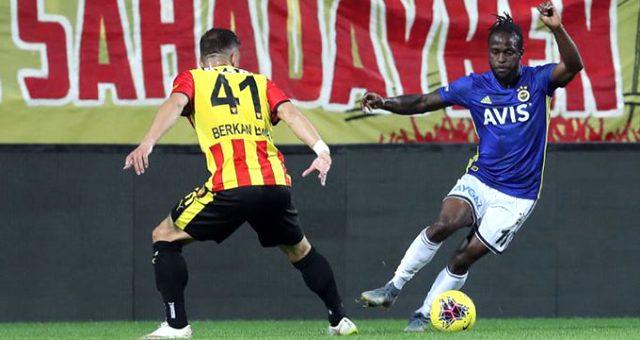 Fenerbahçe'de Victor Moses ilk yarıyı kapattı