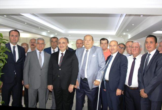Halkbank Genel Müdürü Arslan'dan, TESKOMB'a ziyaret