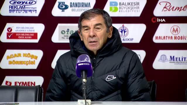 """Hamdi Yılmaz: """"İkinci yarı hakimiyetimizde olan maçı gol atarak süsleyemedik"""""""