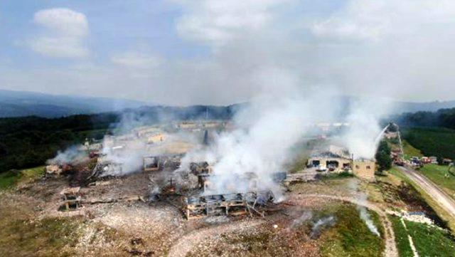 Havai fişek fabrikasındaki patlamada hayatını kaybeden iki kişinin kimlikleri belli oldu