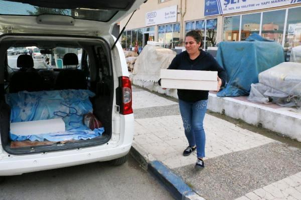İnşaat malzemeleri dükkanı sahibi kadın, erkek mesleği algısını kırdı