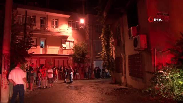 İzmir'de ikamette buzdolabı patladı: 1 yaralı