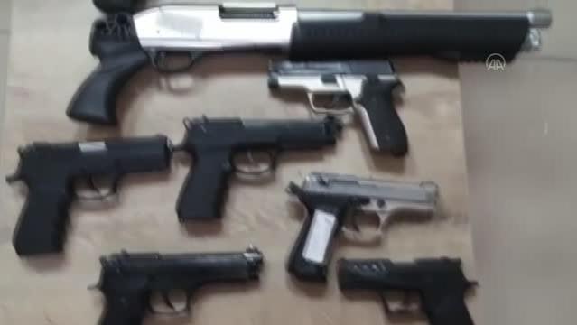 KAHRAMANMARAŞ - Şubat ayında 62 silah ele geçirildi
