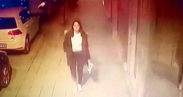 Kalbinden bıçaklanan Ceren Özdemir'in ölmeden önceki son görüntüleri ortaya çıktı