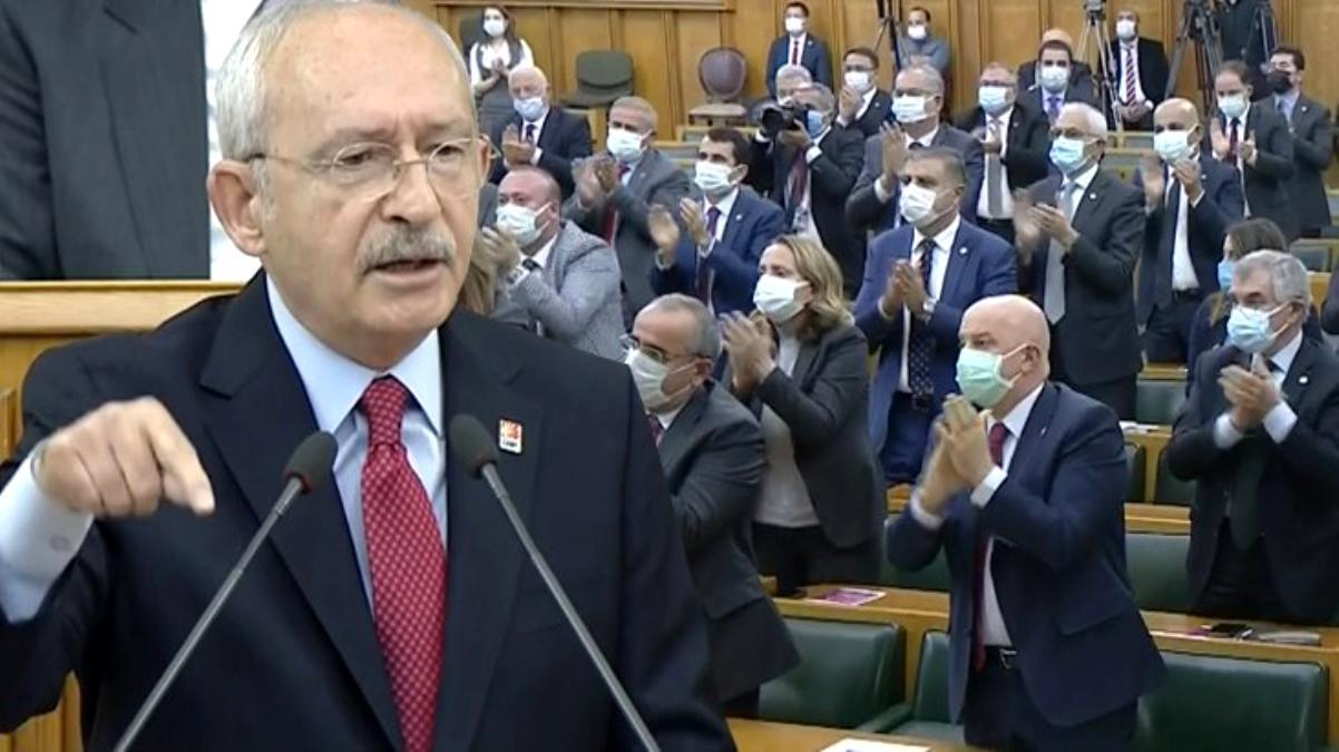 Kılıçdaroğlu'nun Türk Silahlı Kuvvetleri'yle ilgili sözleri parti grubunda ayakta alkışlandı