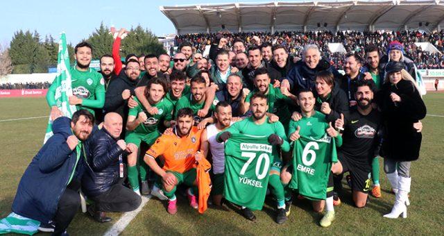 Kırklarelispor, Ziraat Türkiye Kupası'nda tarih yazıyor