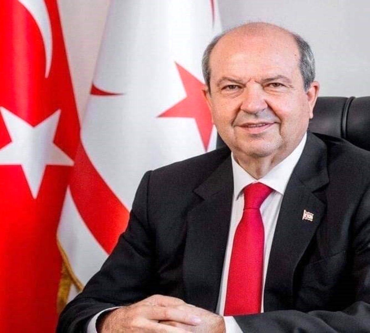 KKTC Cumhurbaşkanı Ersin Tatar'dan Cumhurbaşkanı Erdoğan'a geçmiş olsun telefonu Açıklaması
