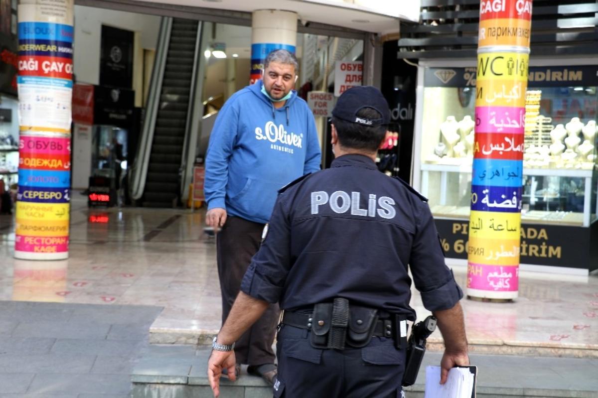Korona yasağını delen vatandaştan şaşırtan savunma: Adana'dan geldim, Adana'da yasak yok