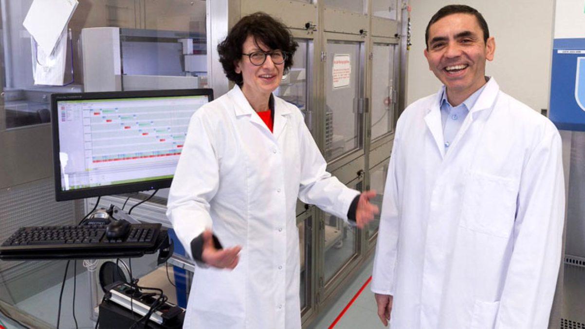 Koronavirüse karşı yüzde 90 etkili aşının arkasında 2 Türk bilim insanı var