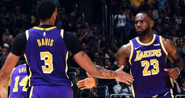 Lakers, Miami Heat'i yenip üst üste 7.galibiyetini aldı