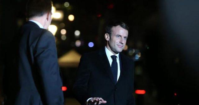 Macron, Erdoğan'la görüştükten sonra Türkiye'ye övgüler yağdırdı