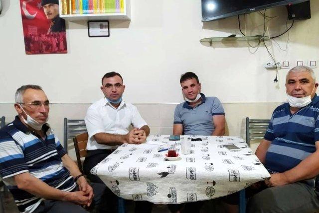 Maden işçileri Kozan'daki yangın mağdurlarını unutmadı