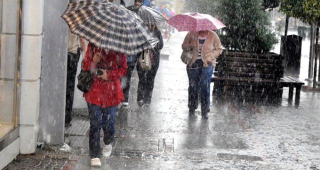 Meteoroloji'den Marmara ve Güneydoğu Anadolu'ya sağanak uyarısı