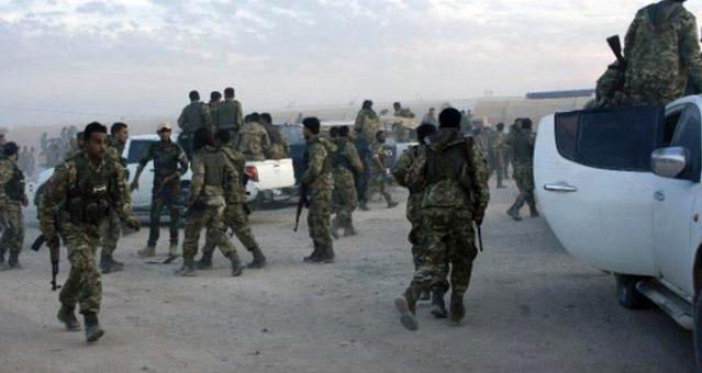 Milli Ordu askerleri, olası harekat için Türkiye'ye doğru yola çıktı