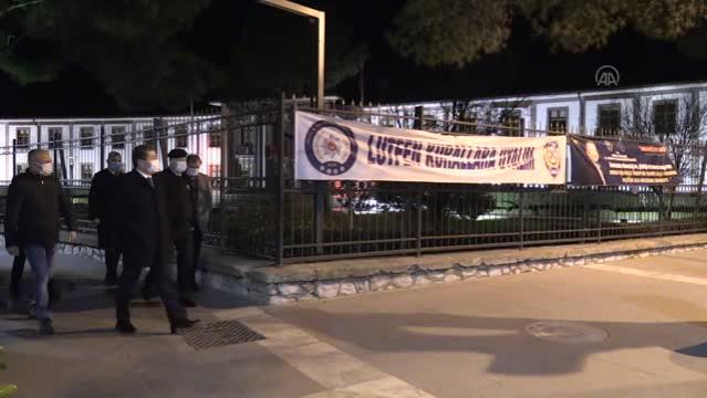 Muğla Valisi Orhan Tavlı, Kovid-19 tedbirleri denetimine katıldı